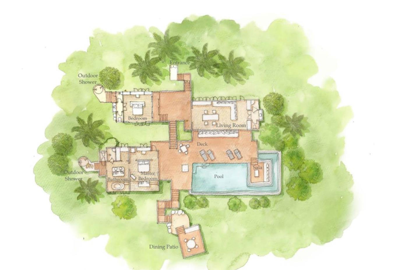 Floorplan The Ocean Retreat